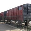 Wagon ayant servit à la déportation depuis Compiègne