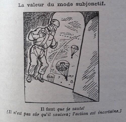 F / Le subjonctif