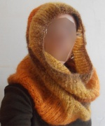 Snood vaporeux