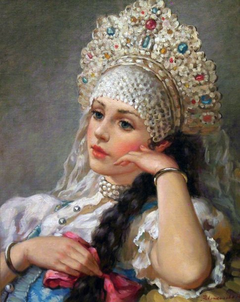 """ Peinture de Konstantin MAKOSKY (1839-1915)"