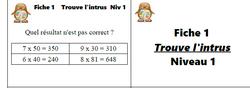 Jeux mathématiques pour ateliers en CM