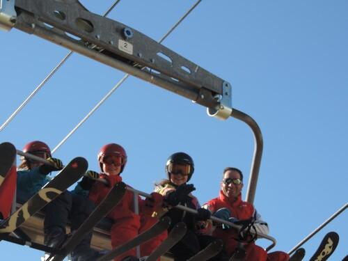 Troisième jour au ski
