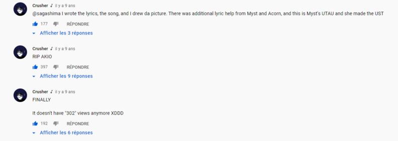 """Crusher-P sous sa chanson """"Breaking Point"""" (qui n'a pas été upload depuis sa chaine)"""
