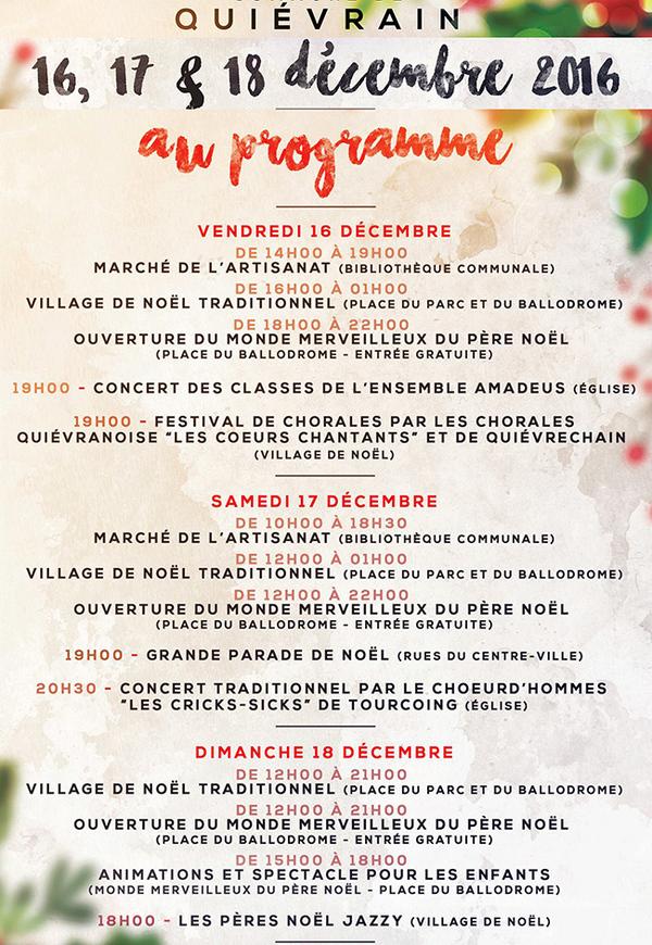 Marché de Noël, à Quièvrain (B)