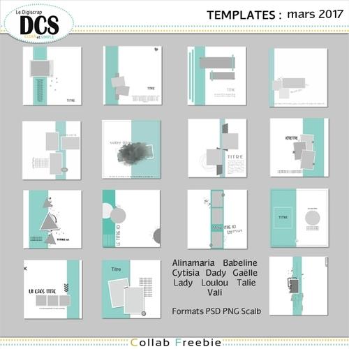 DCS et les templates de Mars
