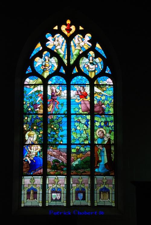 Eglise et calvaire de Rochefort en terre 56220