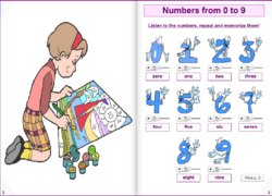 Super interactive book on Numbers