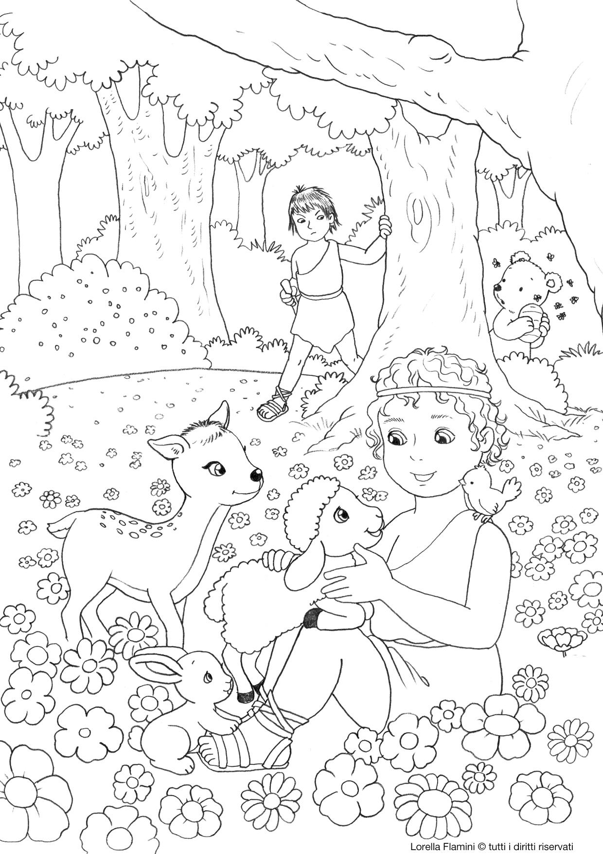 Coloriages pour tout petits levangelisation section enfants - Coloriage tout petit ...