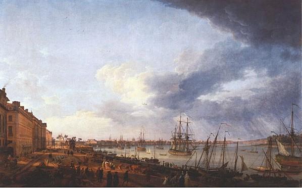 port de la lune en1759