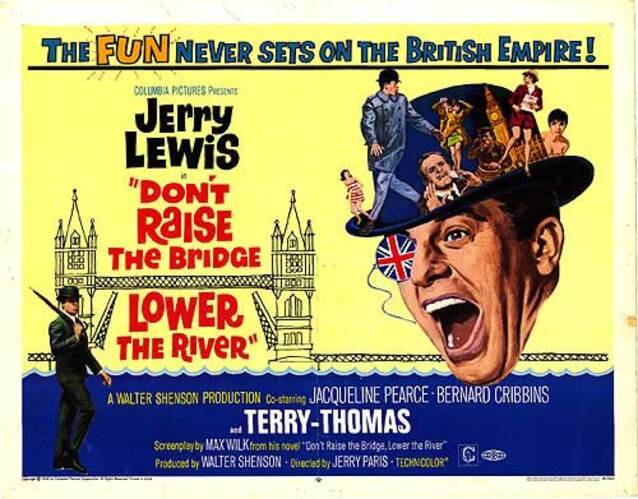 TE CASSE PAS LA TETE JERRY - JERRY LEWIS BOX OFFICE 1968