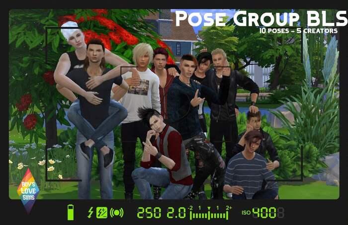 Pose de groupe - BLS GroupeFB