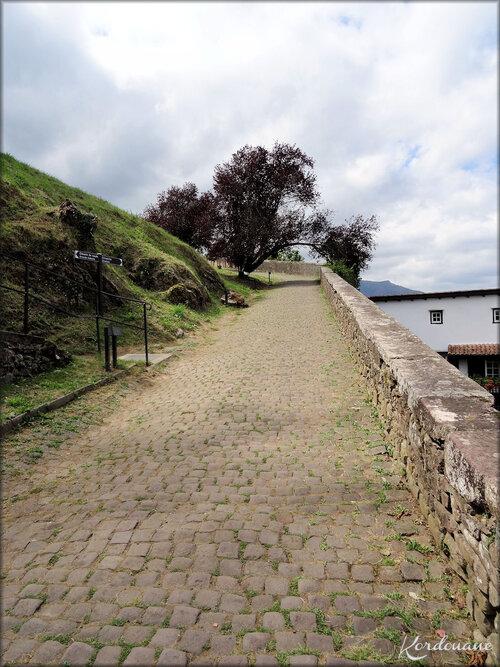 Accès à la Citadelle de Saint Jean Pied de Port