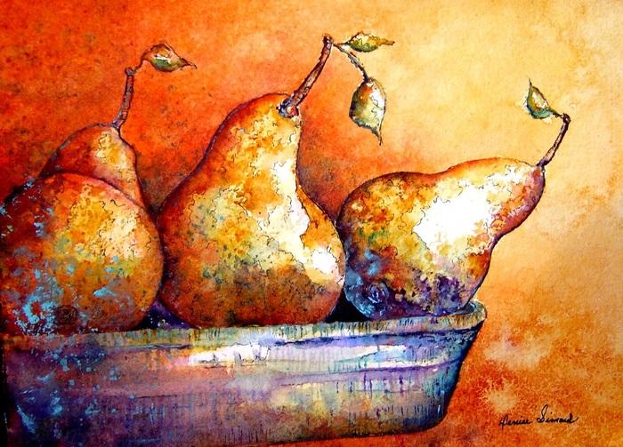Art et Culture 2:  Denise Simard, Aquarelliste originaire d'Alma Lac St-Jean