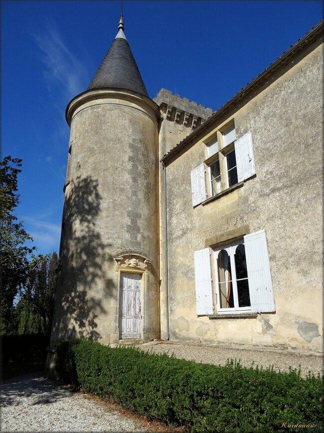 Château de Malromé à Saint-André-du-Bois