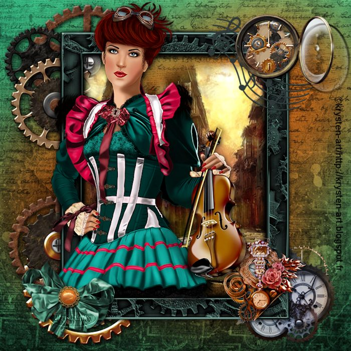 Christina la steampunk