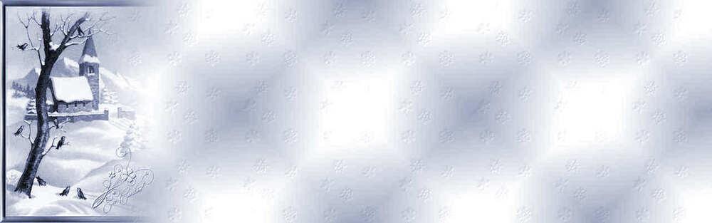 Papiers paysages de neige