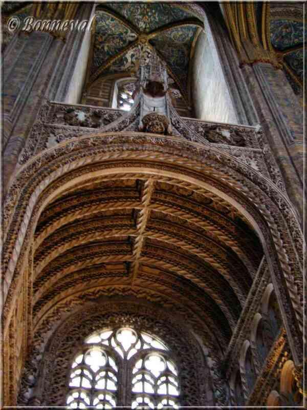 Cathédrale Sainte-Cécile d'Albi entrée