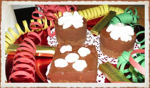 Chocolat praliné croustillant