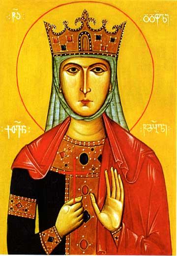 Sainte Kethevan de Géorgie († 1624)