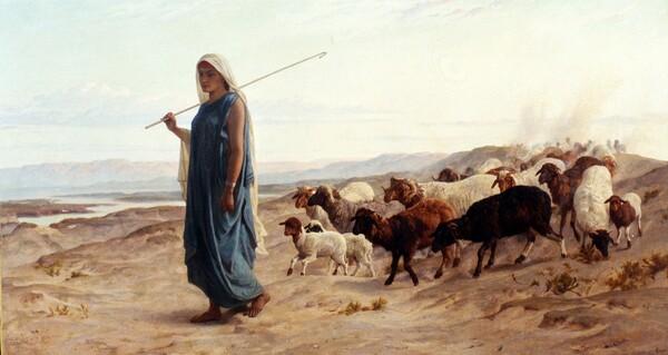 Peinture de : Frederick Goodall