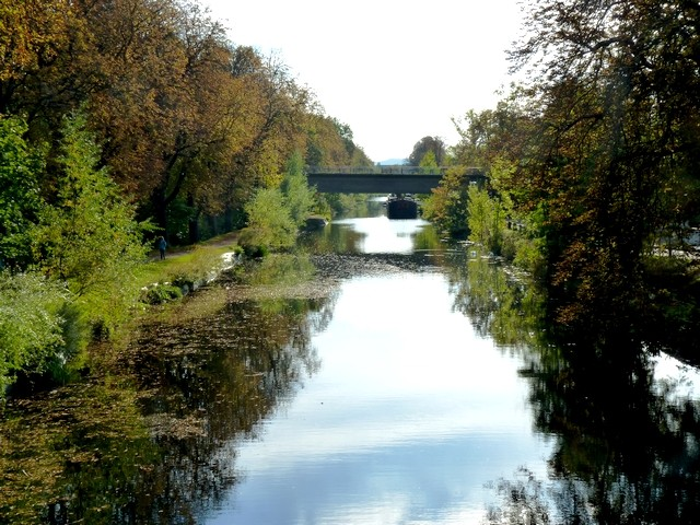 Metz les pêcheurs du canal de Jouy 2 Marc de Metz 23 10 2