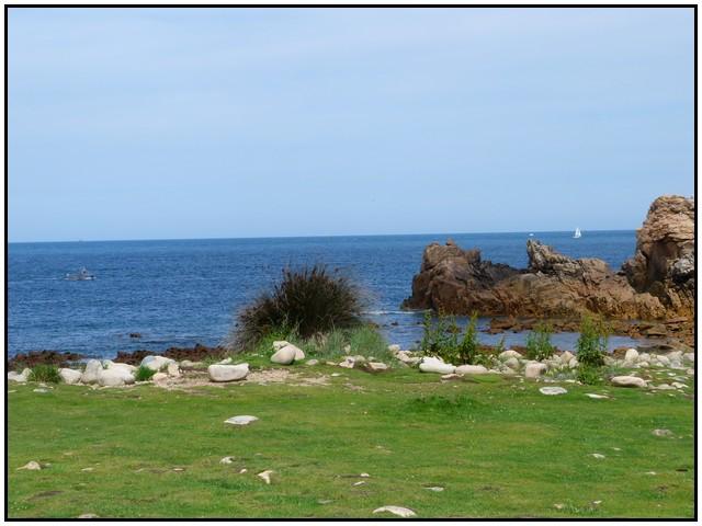 Au nord de l'ile le phare du du paon