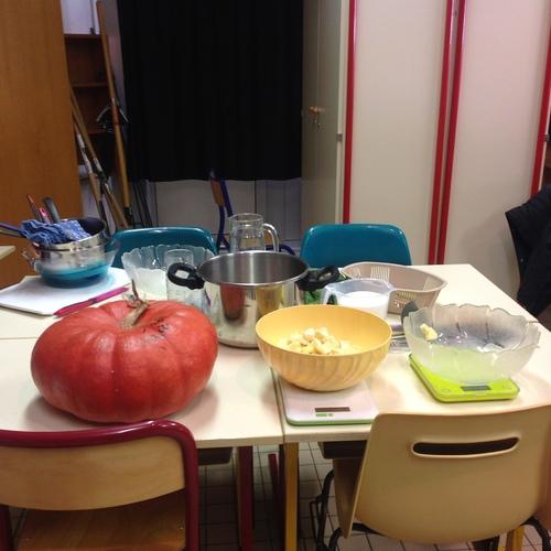 Cuisine à l'école du Château