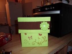 Boîte pour les flûtes de ma mamie