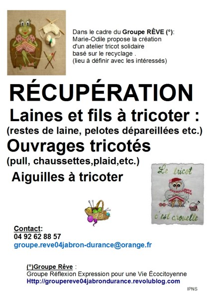 Tricot Solidaire