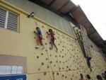 Rencontre sportive au Lycée Français de Tananarive.Championnat scolaire d'Aquathlon.