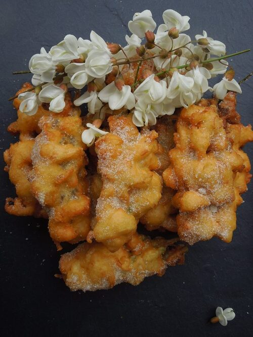 beignets d'acacias