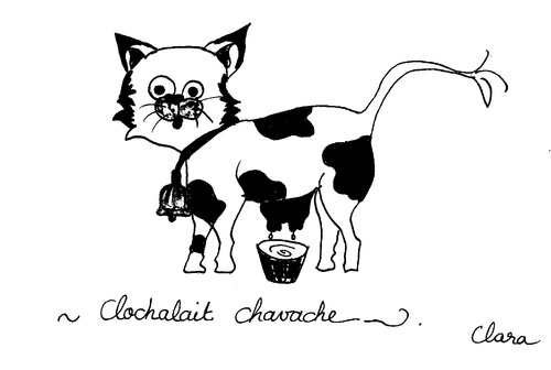 Clochalait, Le Chat-Vache
