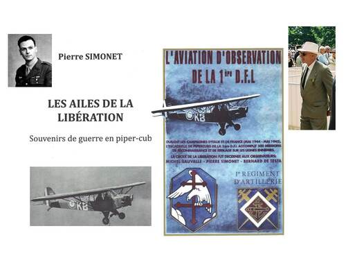* Nos derniers Compagnons : en compagnie de Pierre SIMONET (1er RA)