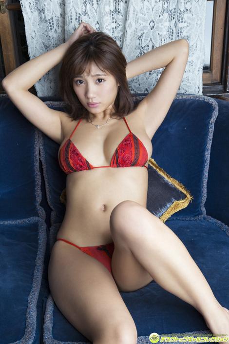 WEB Gravure : ( [DGC] - | 2016.03 | Aya Hazuki/葉月あや : 小柄ながらも90センチHカップが魅力的! )