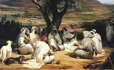 Chefs bedouins par Vernet