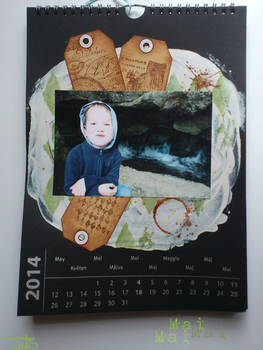Calendrier 2014 - Mai et Scrapbooking days