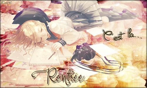 Rentrée (créa^^)