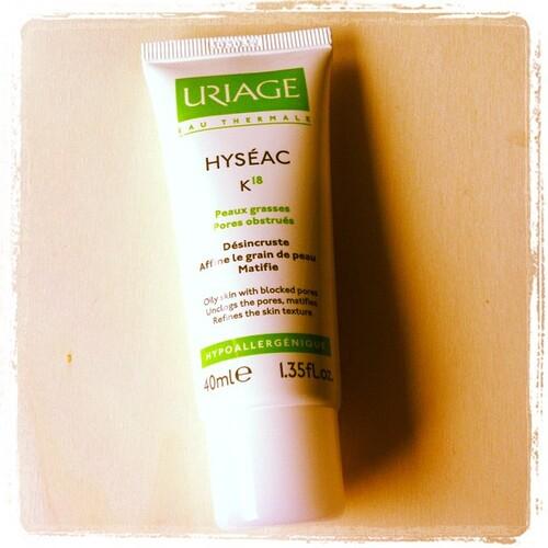 Hyséac K18, Uriage.