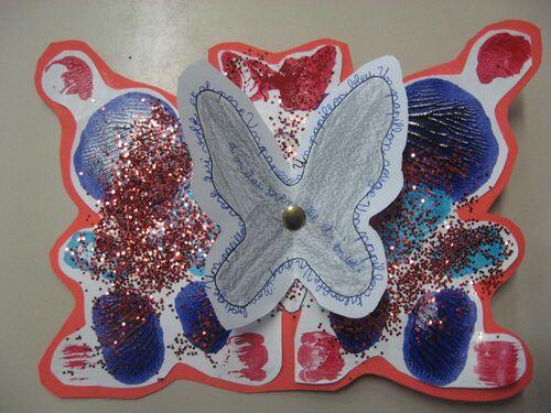 Galerie d'art : papillons volent !