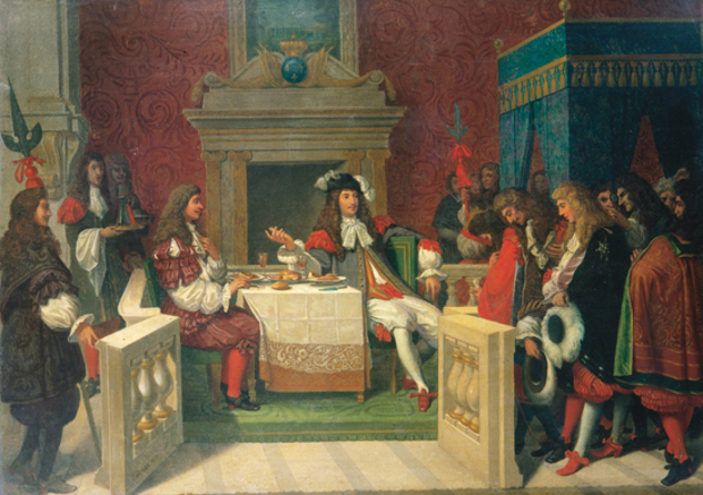 Louis XIV et Molière INGRES