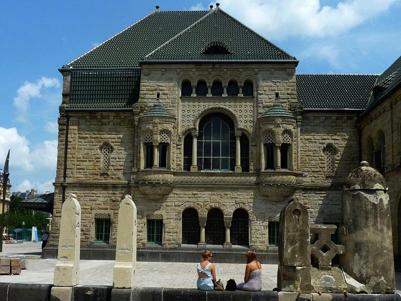 Metz / Les appartements impériaux de la gare...