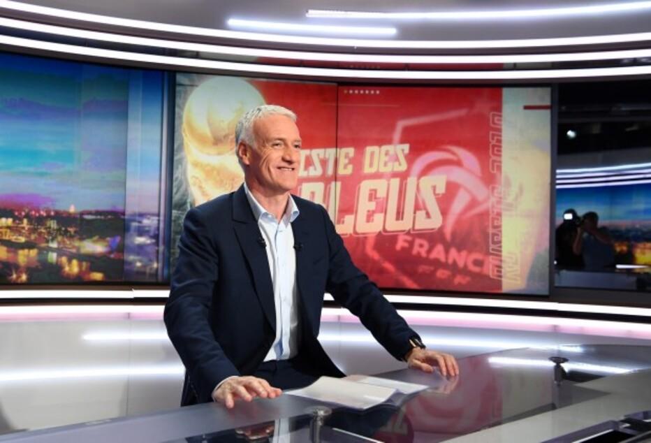 JEUDI 17 MAI 2018 DIDIER DESCHAMPS SUR TF1 A 20h30