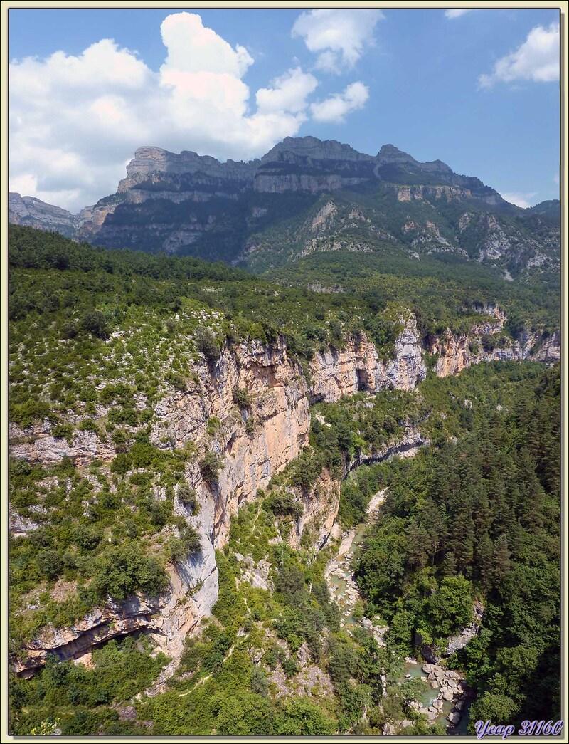 Haut du Cañòn d'Añisclo - Escalona - Aragòn - Espagne (España)