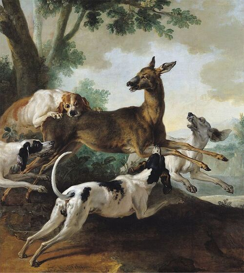 Les chiens du roi...