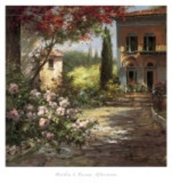 Haibin-Tuscan-Afternoon-Affiches