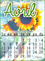 Calendriers#avril