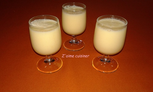 Smoothies yaourt ananas/orange