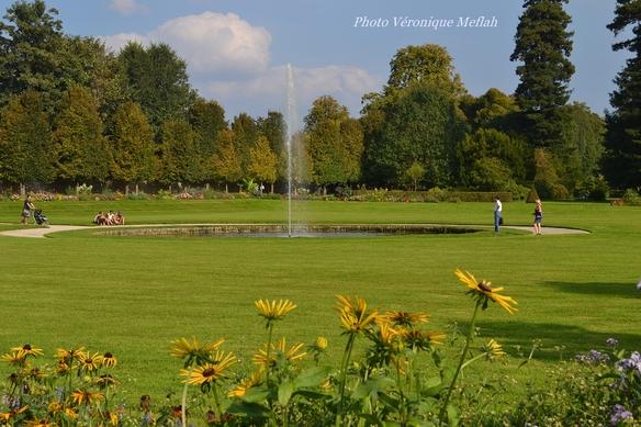 Domaine de Rambouillet : Jardin à la française