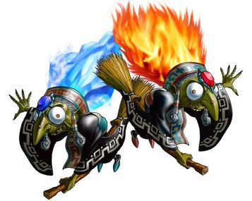 Koume & Kotake, the Sisters Twinrova - <i>Ocarina of Time 3D</i>