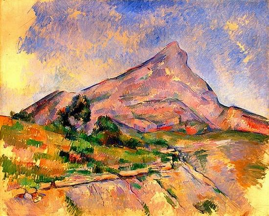 Paul Cézanne, Montagne Sainte-Victoire